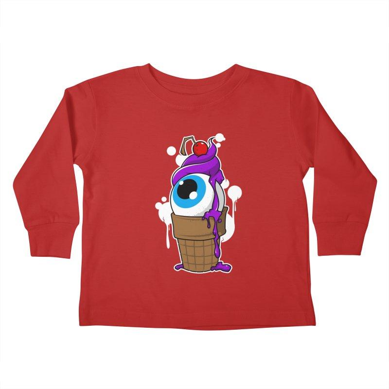 Eyescream Kids Toddler Longsleeve T-Shirt by emodistcreates's Artist Shop