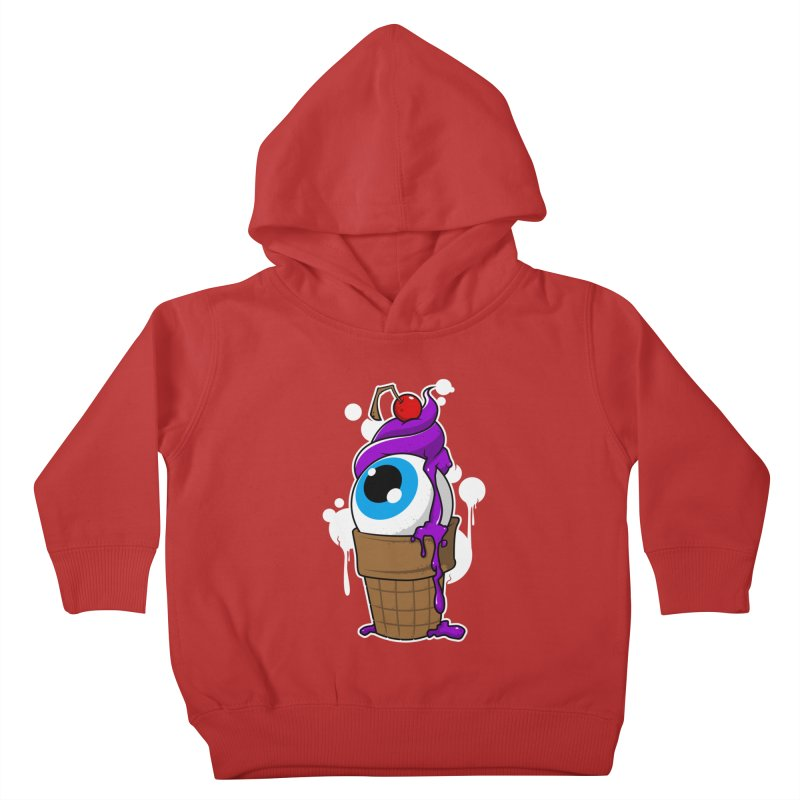 Eyescream Kids Toddler Pullover Hoody by emodistcreates's Artist Shop