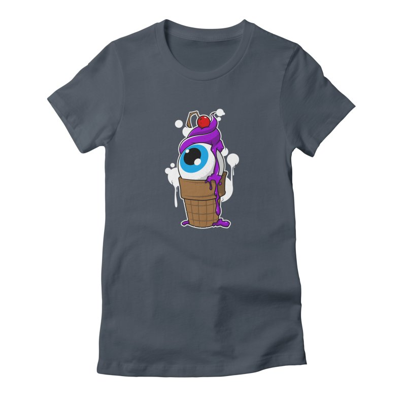 Eyescream Women's T-Shirt by emodistcreates's Artist Shop