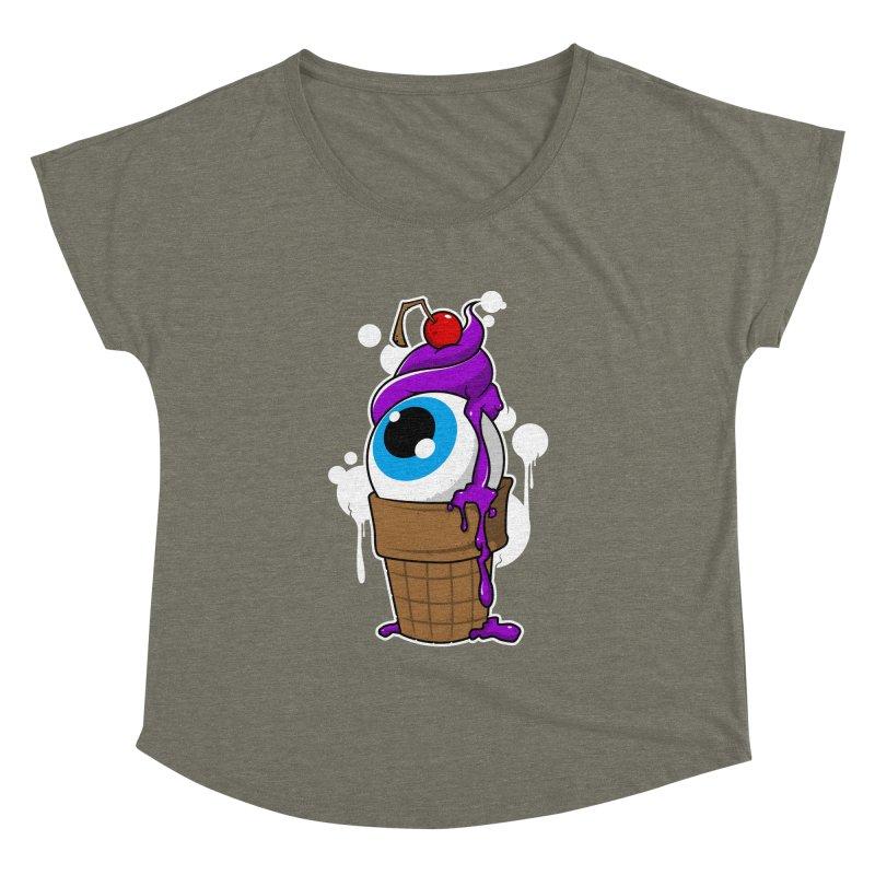 Eyescream Women's Dolman by emodistcreates's Artist Shop