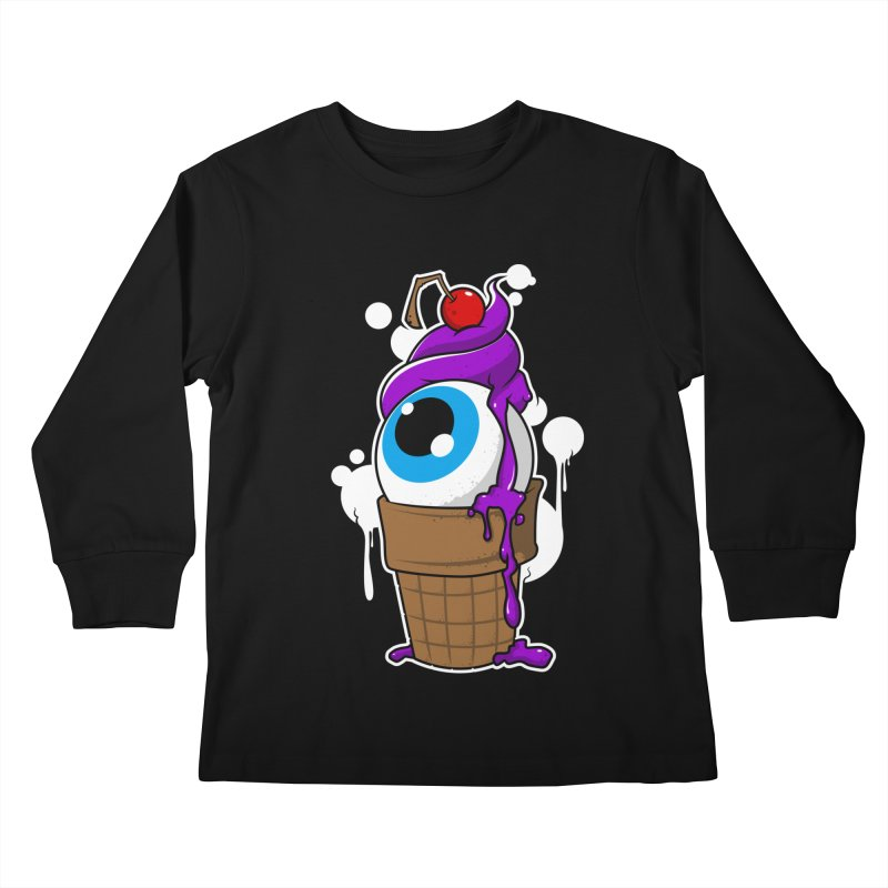 Eyescream Kids Longsleeve T-Shirt by emodistcreates's Artist Shop