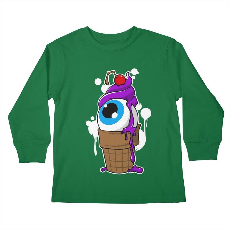 Eyescream Kids Longsleeve T-Shirt by emodistcreates's Artist Shop