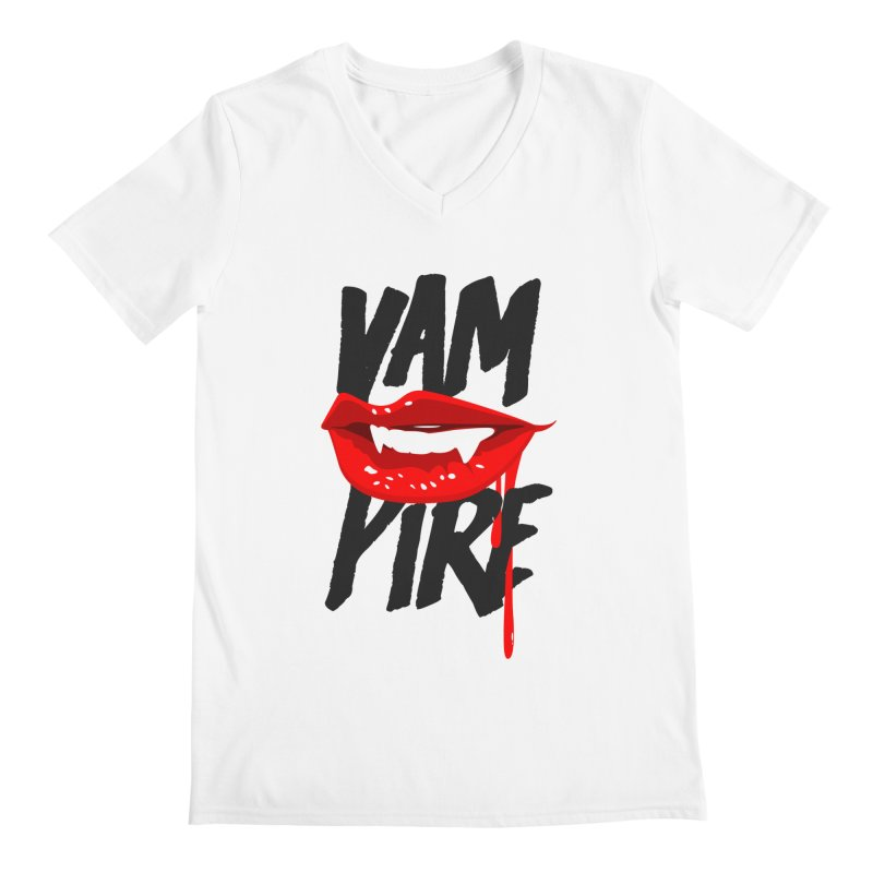 Vampire Men's V-Neck by emodistcreates's Artist Shop