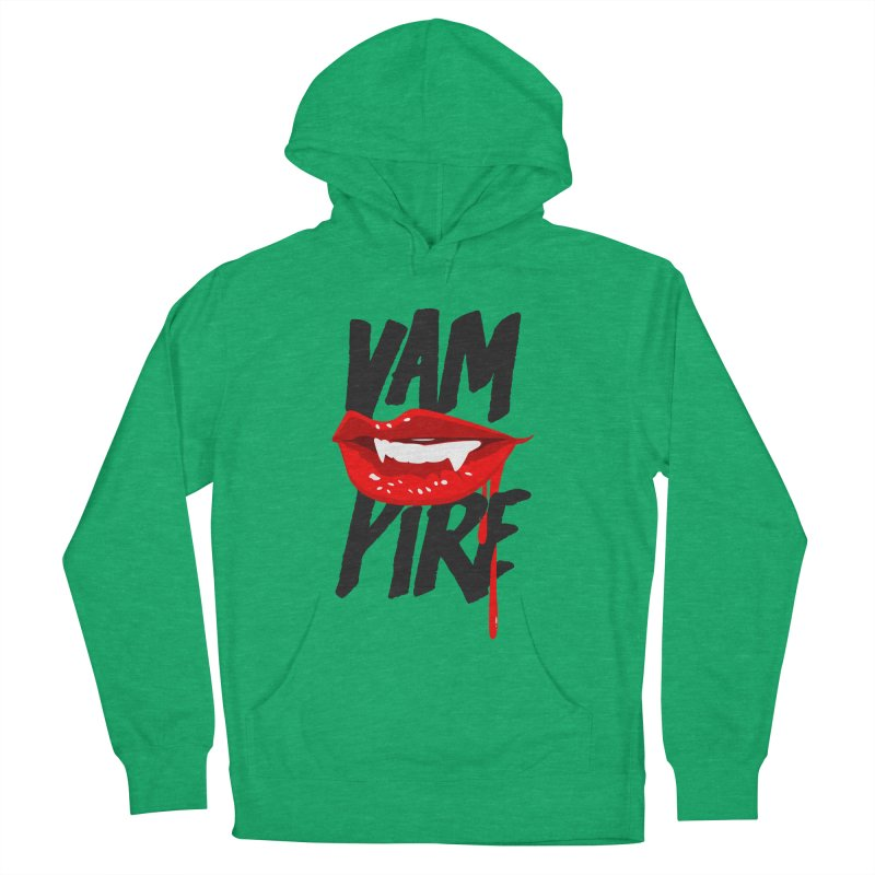 Vampire Women's French Terry Pullover Hoody by emodistcreates's Artist Shop