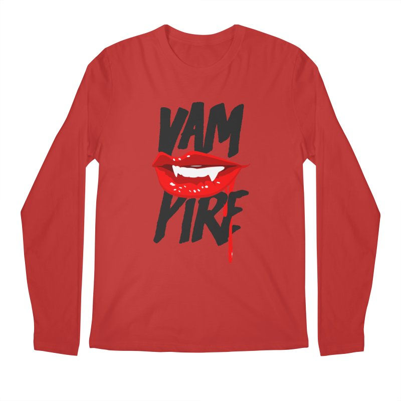 Vampire Men's Regular Longsleeve T-Shirt by emodistcreates's Artist Shop
