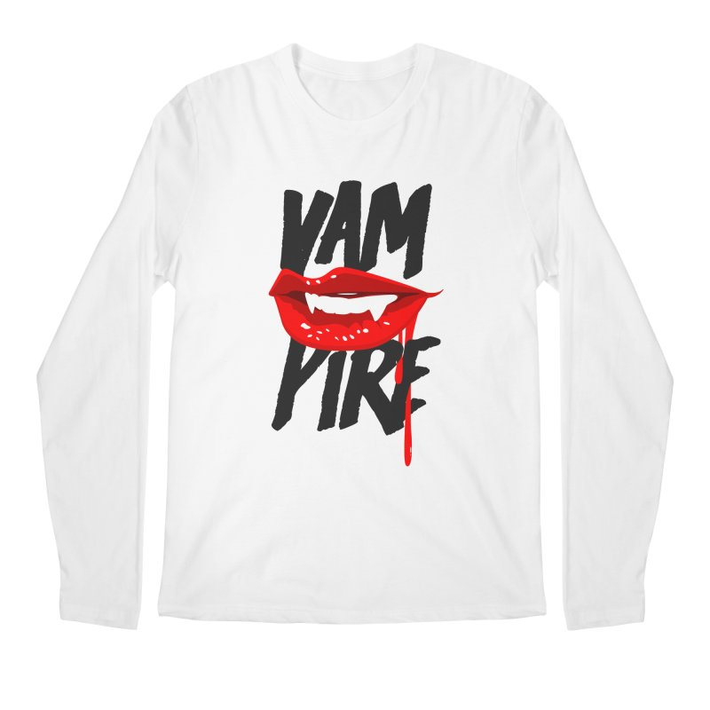Vampire Men's Regular Longsleeve T-Shirt by emodistcreates's Artist Shop