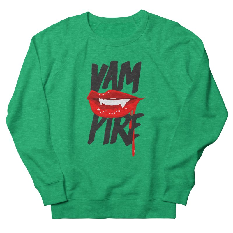 Vampire Men's French Terry Sweatshirt by emodistcreates's Artist Shop