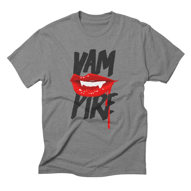 Vampire Men's Triblend T-Shirt by emodistcreates's Artist Shop