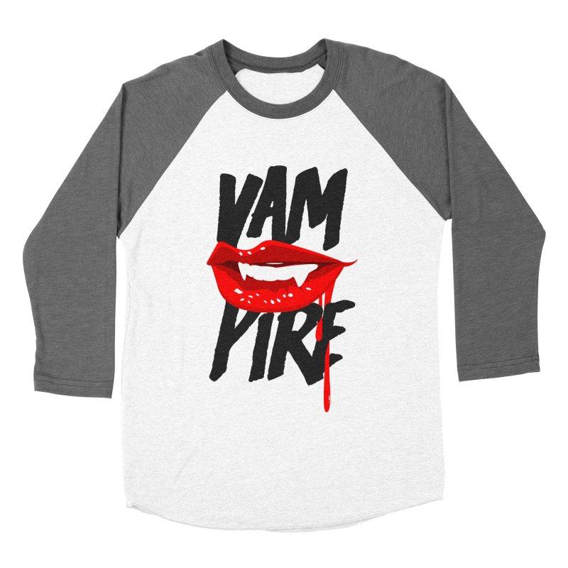 Vampire Women's Baseball Triblend T-Shirt by emodistcreates's Artist Shop