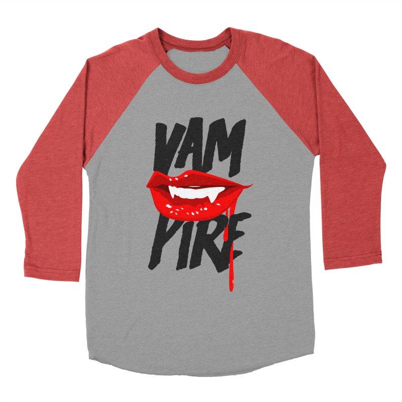 Vampire Women's Baseball Triblend Longsleeve T-Shirt by emodistcreates's Artist Shop