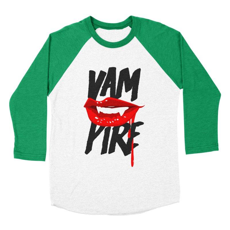 Vampire Men's Baseball Triblend T-Shirt by emodistcreates's Artist Shop