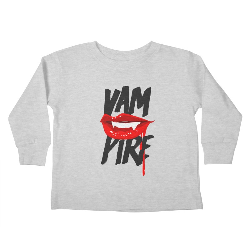 Vampire Kids Toddler Longsleeve T-Shirt by emodistcreates's Artist Shop