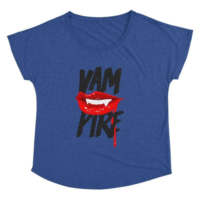 Vampire Women's Dolman Scoop Neck by emodistcreates's Artist Shop