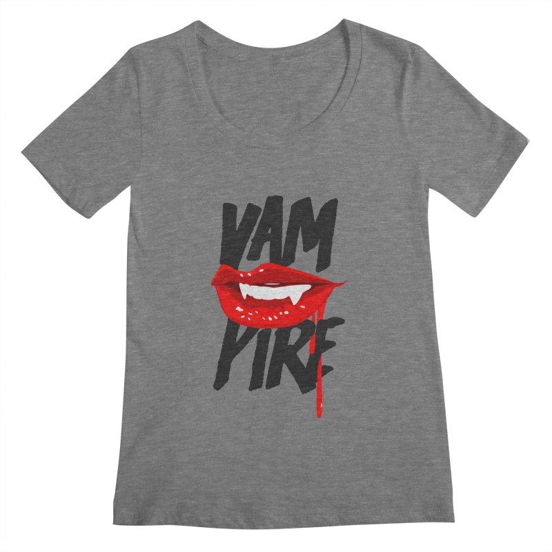 Vampire Women's Scoopneck by emodistcreates's Artist Shop