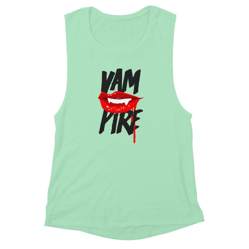Vampire Women's Muscle Tank by emodistcreates's Artist Shop