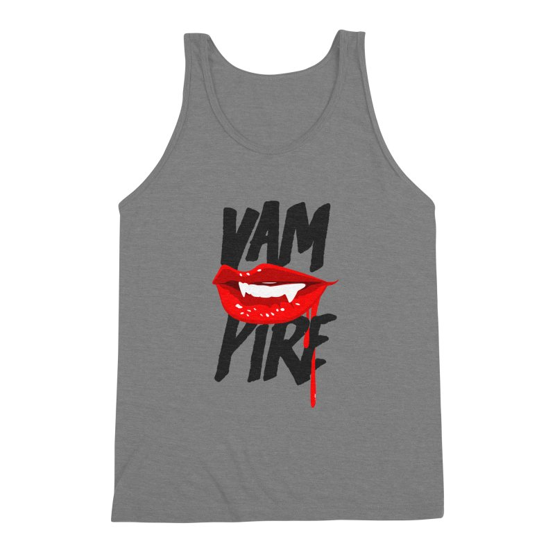 Vampire Men's Triblend Tank by emodistcreates's Artist Shop