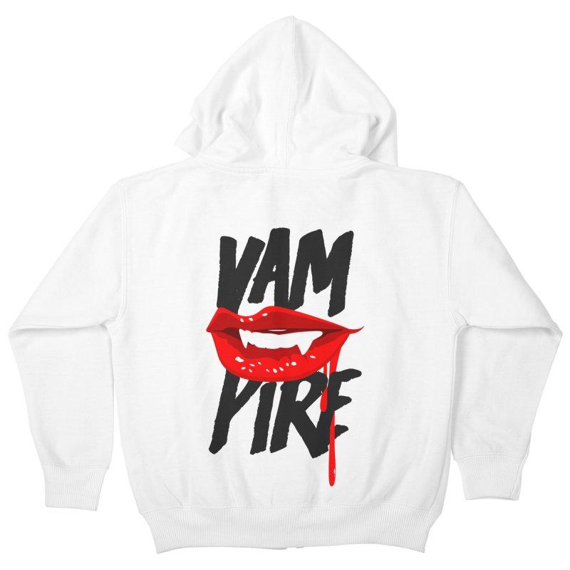 Vampire Kids Zip-Up Hoody by emodistcreates's Artist Shop
