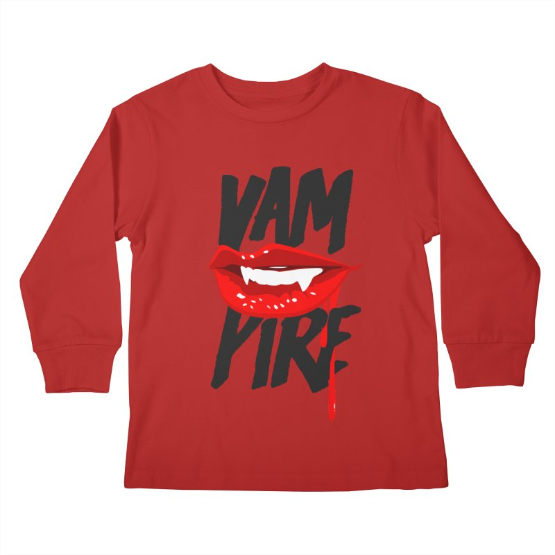 Vampire Kids Longsleeve T-Shirt by emodistcreates's Artist Shop