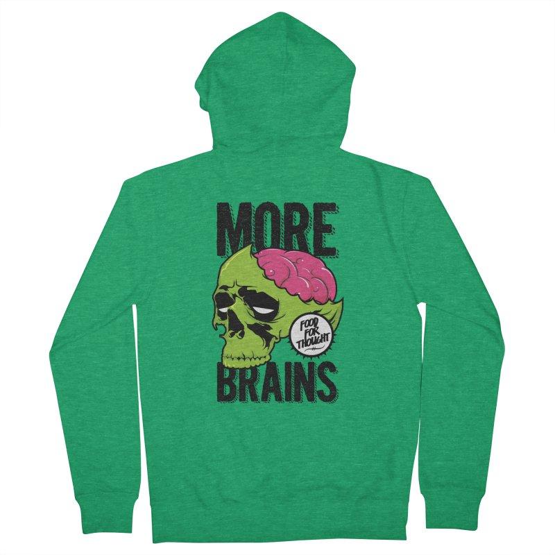 More Brains Women's Zip-Up Hoody by emodistcreates's Artist Shop