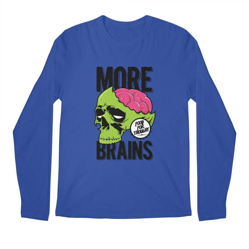 More Brains Men's Regular Longsleeve T-Shirt by emodistcreates's Artist Shop
