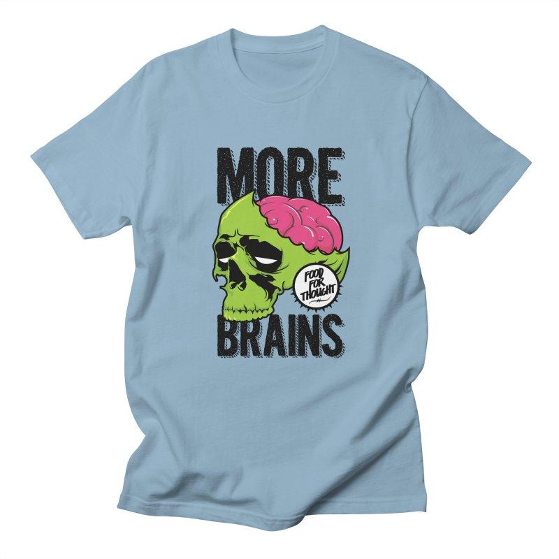 More Brains Men's T-Shirt by emodistcreates's Artist Shop