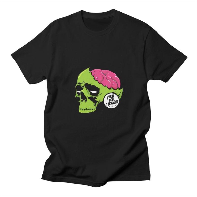 More Brains Men's Regular T-Shirt by emodistcreates's Artist Shop