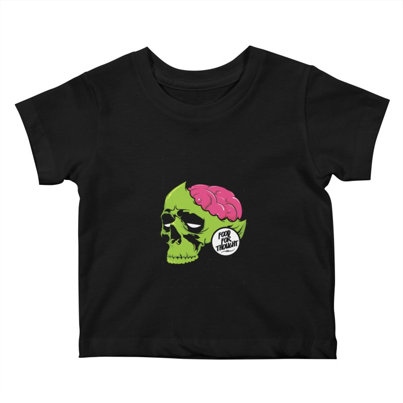 More Brains Kids Baby T-Shirt by emodistcreates's Artist Shop