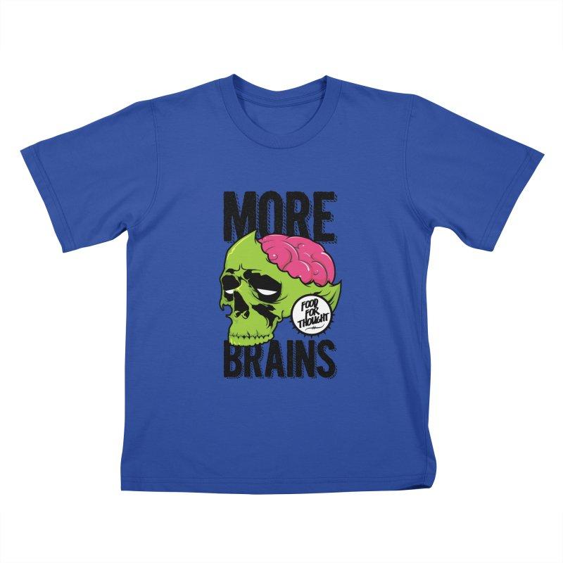 More Brains Kids T-shirt by emodistcreates's Artist Shop