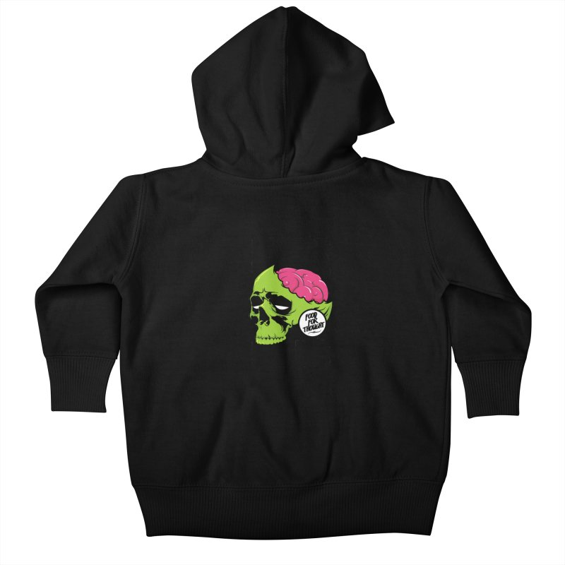 More Brains Kids Baby Zip-Up Hoody by emodistcreates's Artist Shop