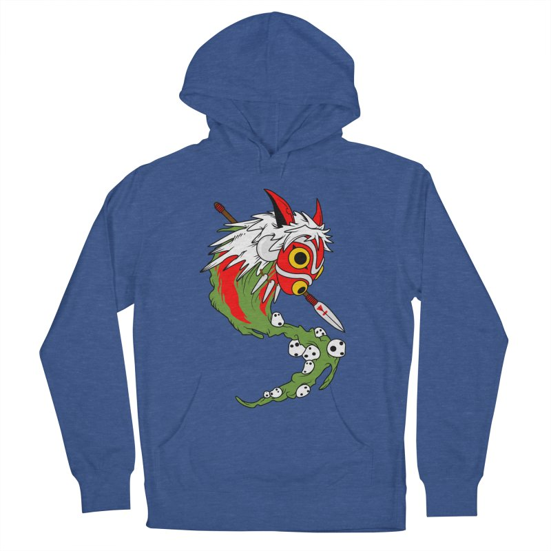 Mononoke Men's French Terry Pullover Hoody by emodistcreates's Artist Shop