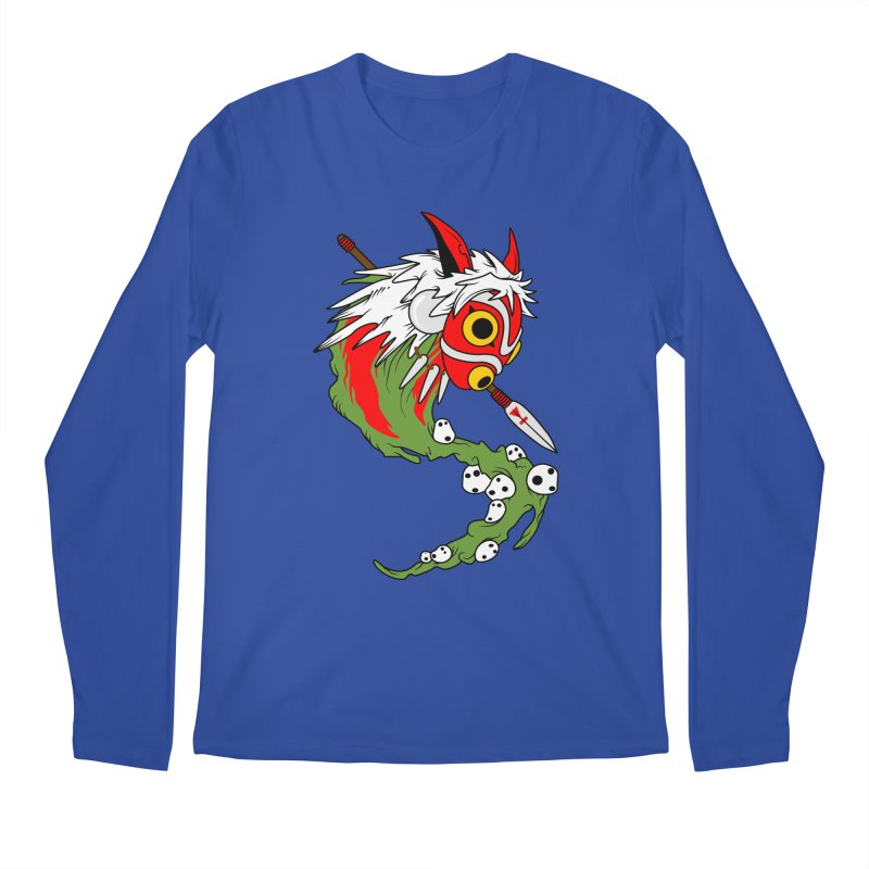 Mononoke Men's Regular Longsleeve T-Shirt by emodistcreates's Artist Shop