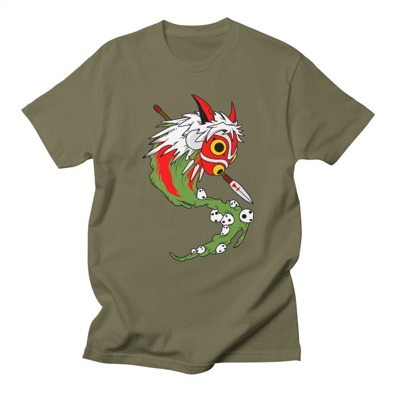 Mononoke Men's Regular T-Shirt by emodistcreates's Artist Shop