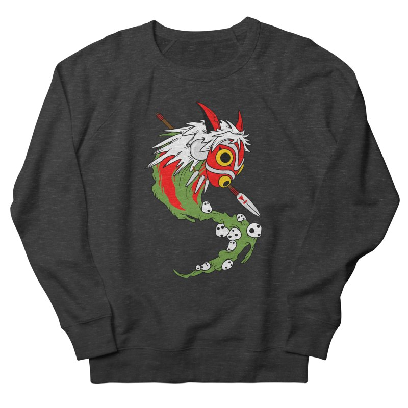 Mononoke Women's French Terry Sweatshirt by emodistcreates's Artist Shop