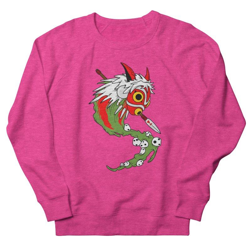 Mononoke Women's French Terry Sweatshirt by emodistcreates's Artist Shop