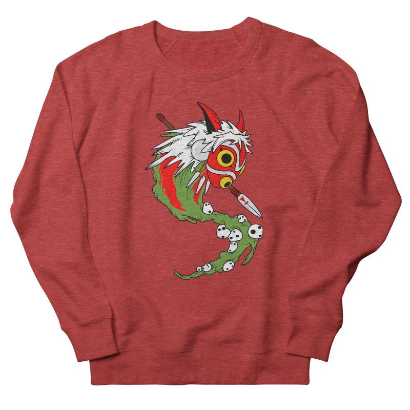 Mononoke Men's French Terry Sweatshirt by emodistcreates's Artist Shop