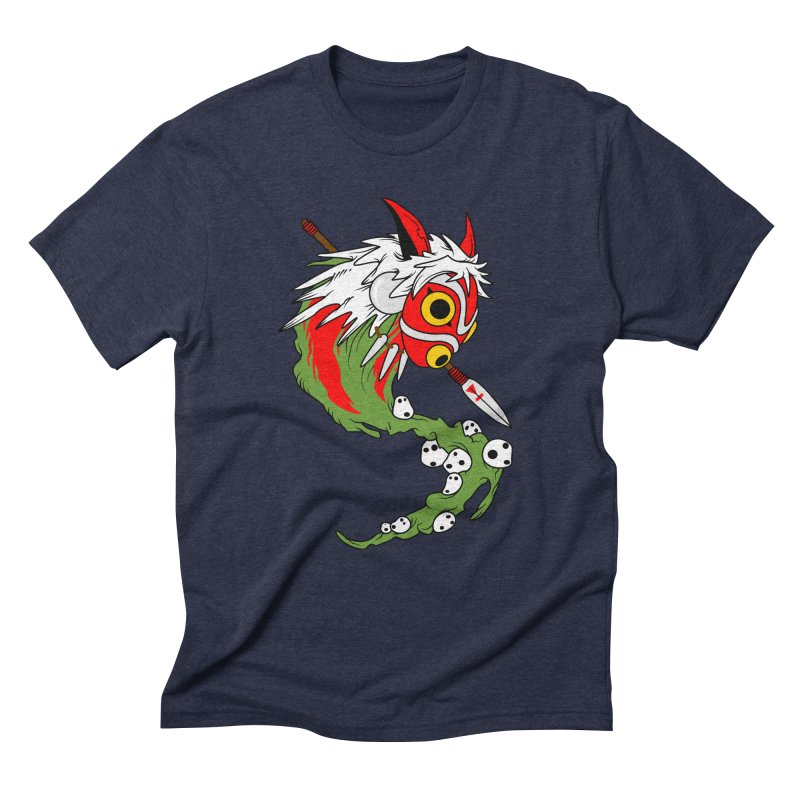 Mononoke Men's Triblend T-Shirt by emodistcreates's Artist Shop