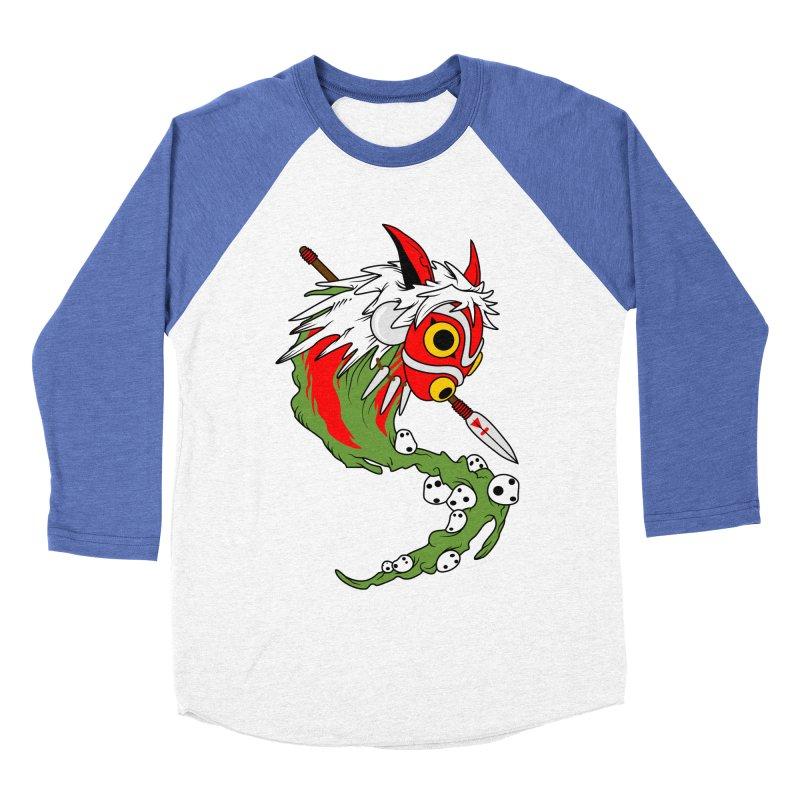 Mononoke Women's Baseball Triblend Longsleeve T-Shirt by emodistcreates's Artist Shop