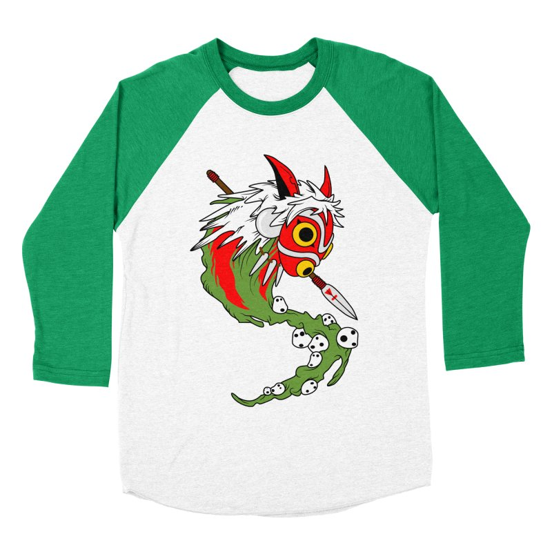 Mononoke Women's Baseball Triblend T-Shirt by emodistcreates's Artist Shop
