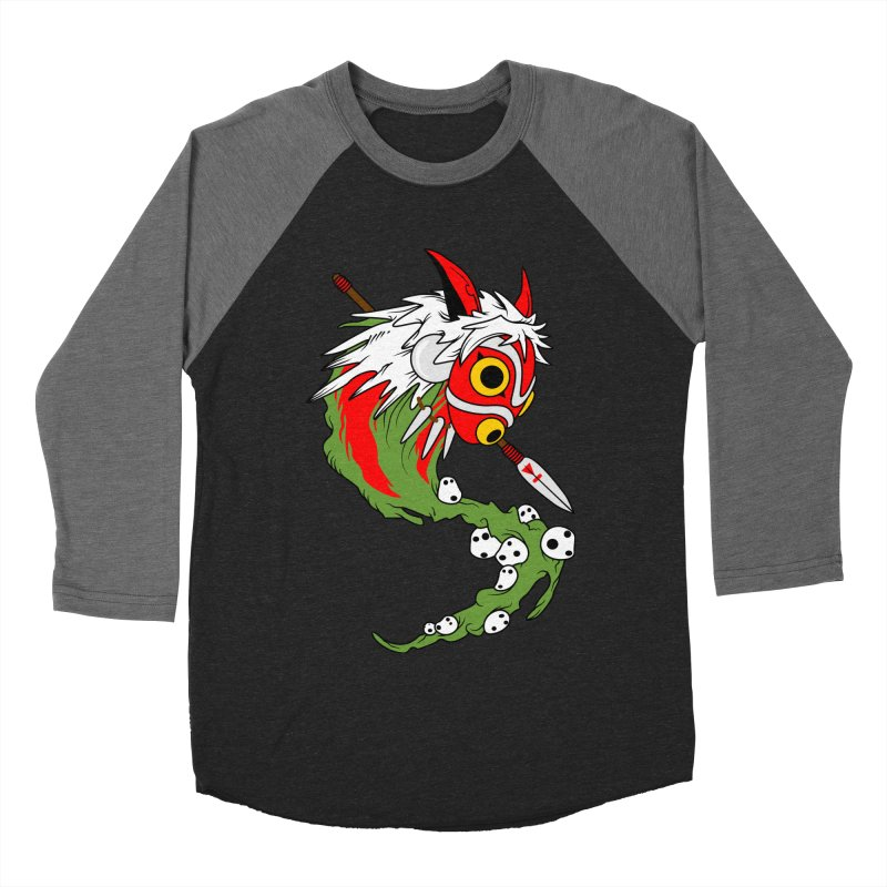 Mononoke Men's Baseball Triblend Longsleeve T-Shirt by emodistcreates's Artist Shop