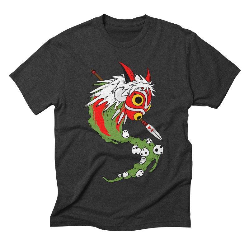 Mononoke Men's Triblend T-shirt by emodistcreates's Artist Shop