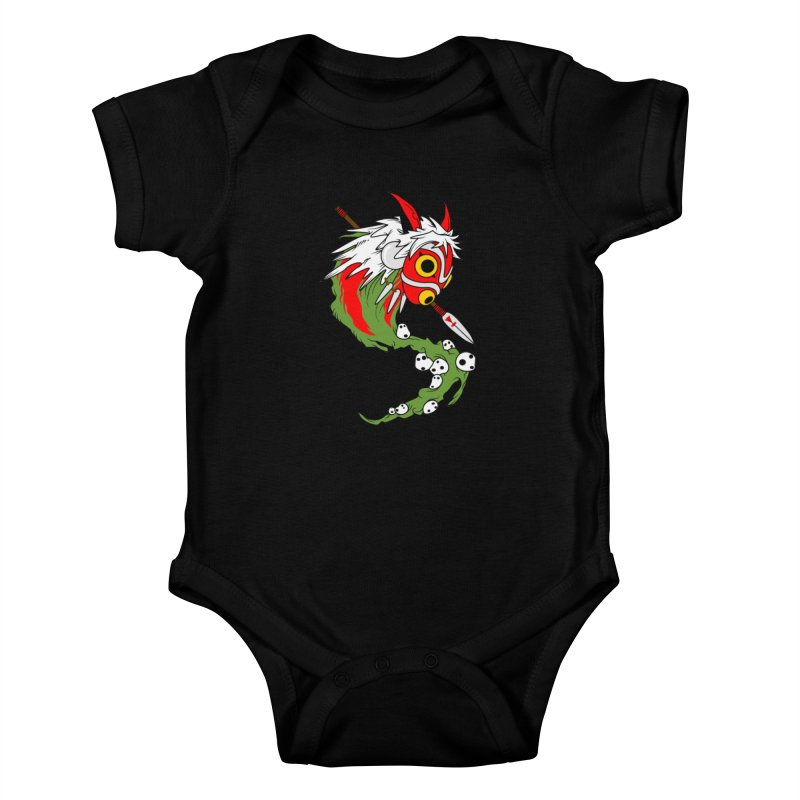Mononoke Kids Baby Bodysuit by emodistcreates's Artist Shop