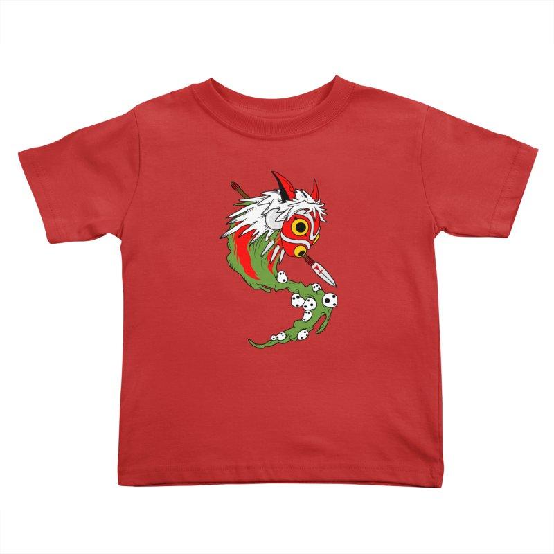 Mononoke Kids Toddler T-Shirt by emodistcreates's Artist Shop