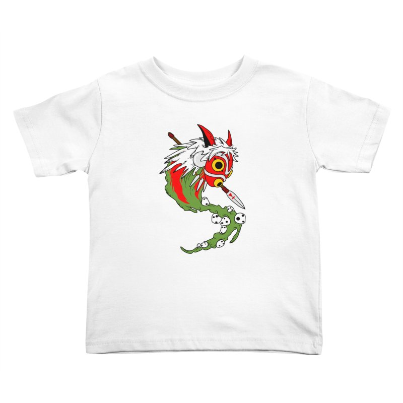 Mononoke Kids Toddler T-Shirt by emodistcreates's Artist Shop