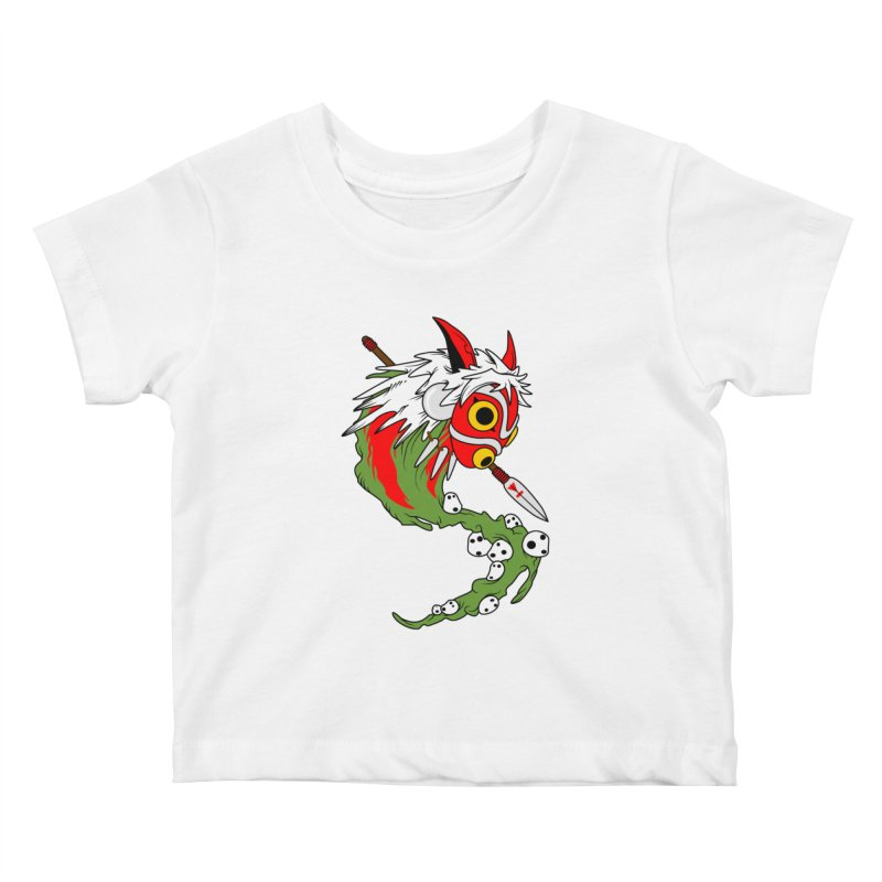 Mononoke Kids Baby T-Shirt by emodistcreates's Artist Shop