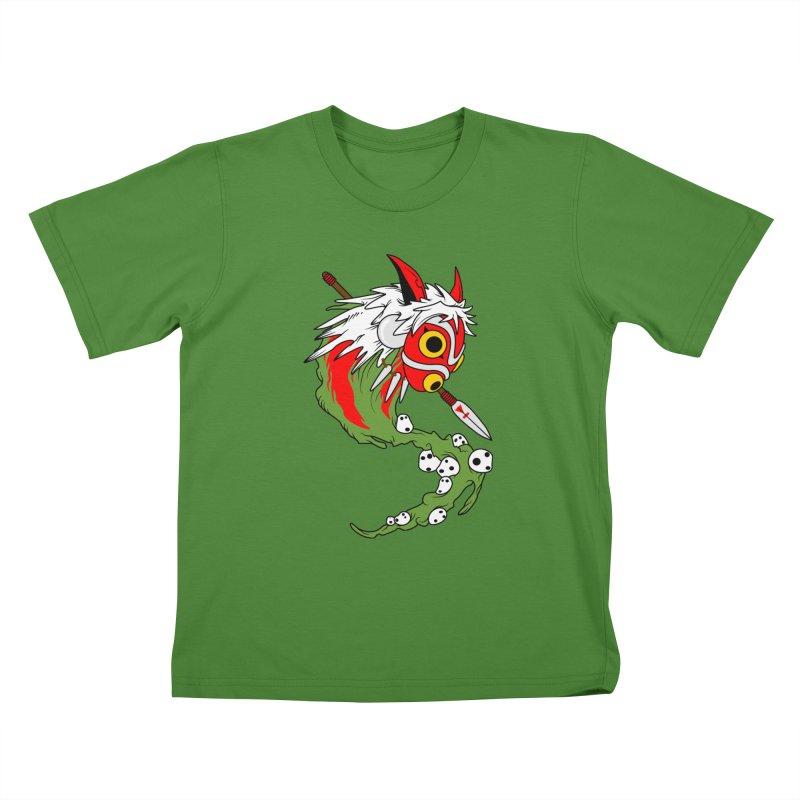 Mononoke Kids T-Shirt by emodistcreates's Artist Shop
