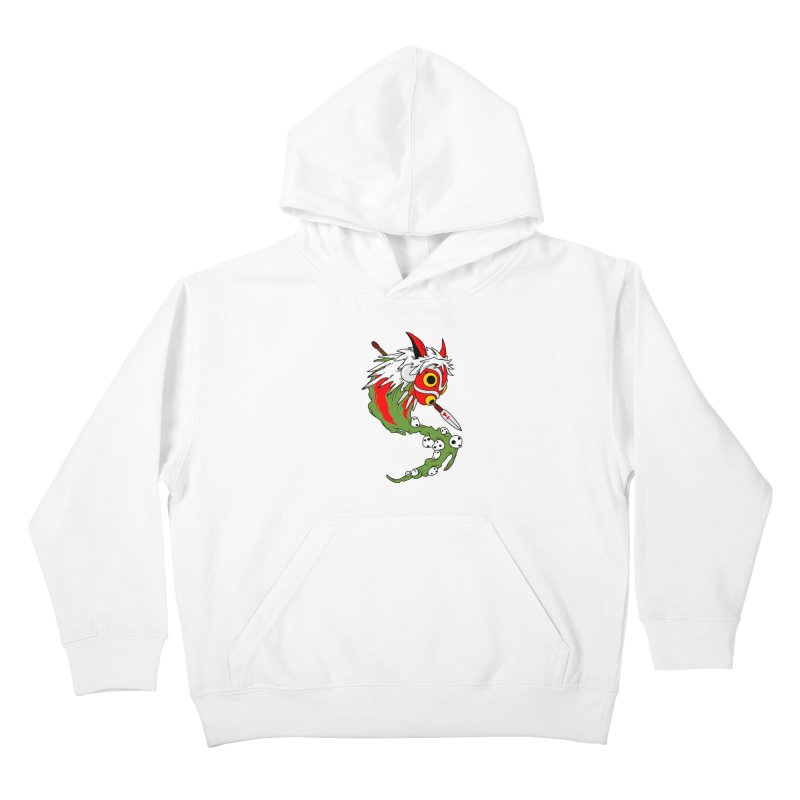 Mononoke Kids Pullover Hoody by emodistcreates's Artist Shop