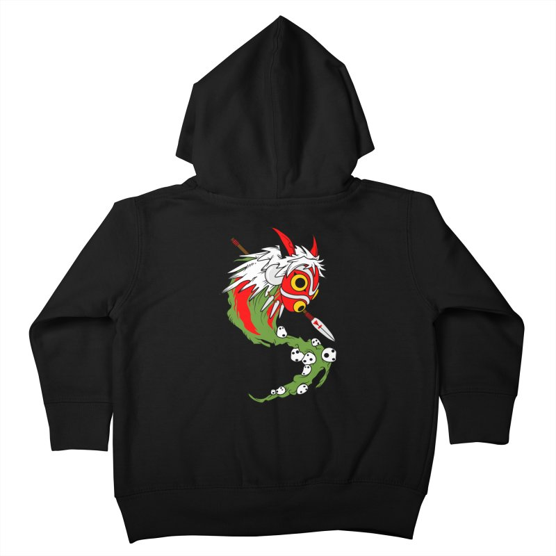 Mononoke Kids Toddler Zip-Up Hoody by emodistcreates's Artist Shop