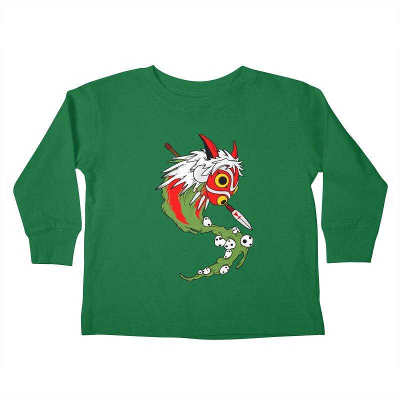 Mononoke Kids Toddler Longsleeve T-Shirt by emodistcreates's Artist Shop