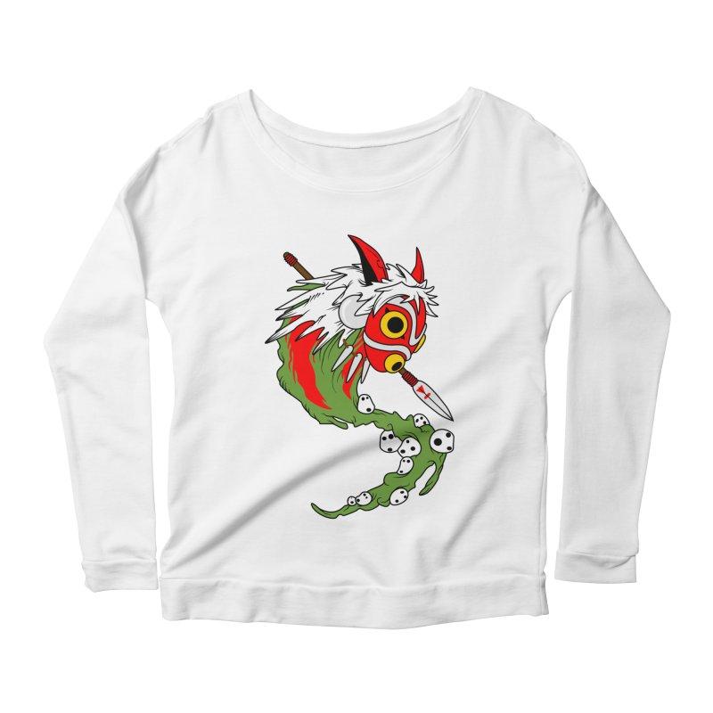Mononoke Women's Scoop Neck Longsleeve T-Shirt by emodistcreates's Artist Shop