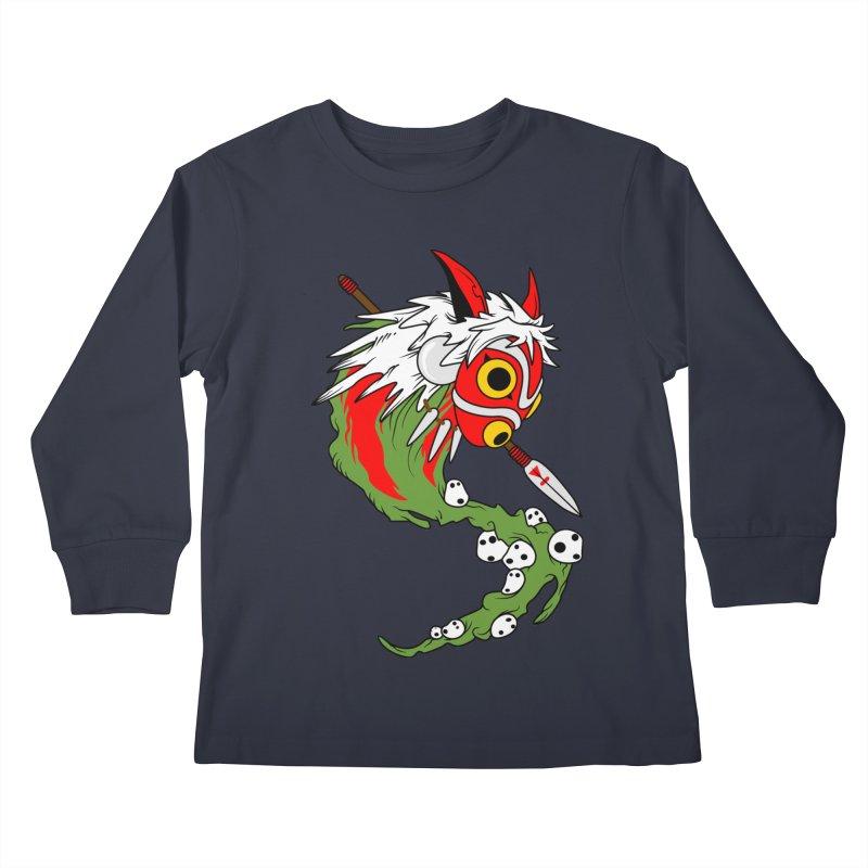 Mononoke Kids Longsleeve T-Shirt by emodistcreates's Artist Shop